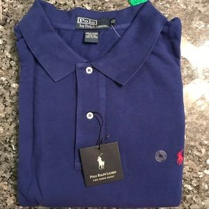 NWT!!  Ralph Lauren Polo 4X in Club Blue